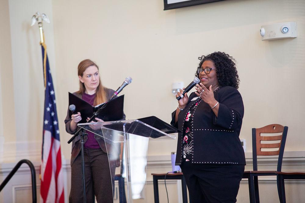 Rev Allison Gossett and Rev. Toi King speak at Brentwood UMC's Faith Forum: Conversations on Race
