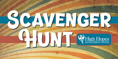 High Hopes scavenger hunt