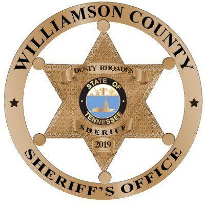 Williamson County Sheriff's Office badge WCSO