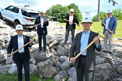 Andrews Transportation Group groundbreaking 2020