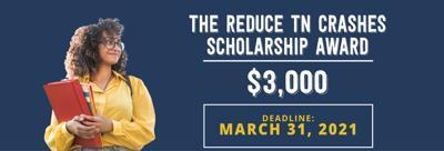 Reduce TN Crashes Scholarship Award