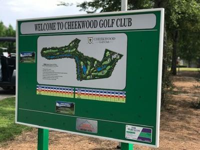 Cheekwood Golf sign