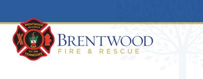 Brentwood Fire and Rescue Department logo