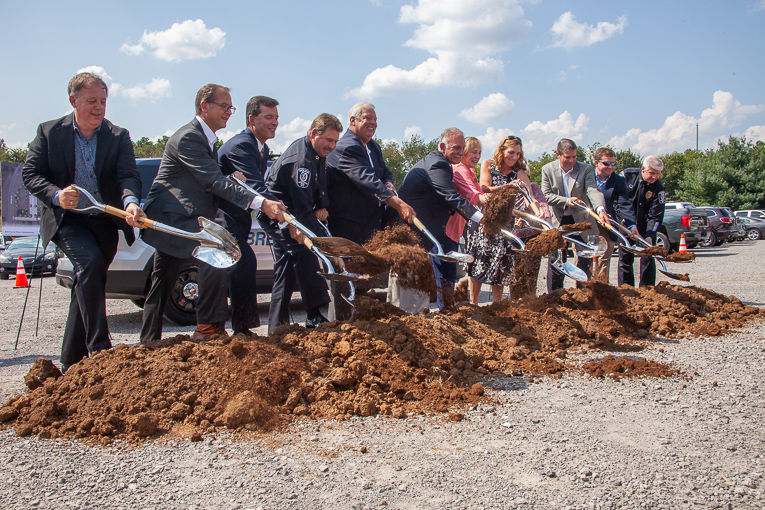Brentwood Police HQ Groundbreaking 09/11/19