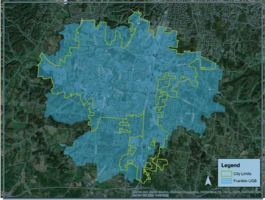 Franklin urban growth boundary