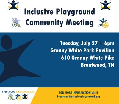 Brentwood Inclusive Playground Community Meeting July 2021