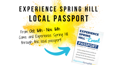 Experience Spring Hill Passport