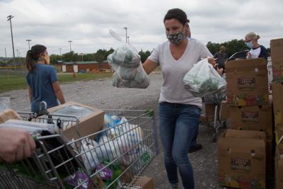 Food drive Nolensville 09182020 1
