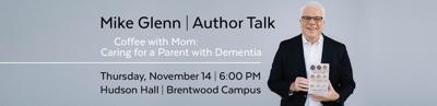 Mike Glenn Author Talk