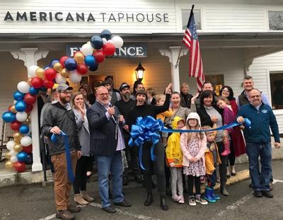 Americana Taphouse ribbon cutting