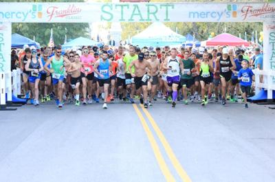 Start of the Franklin Classic