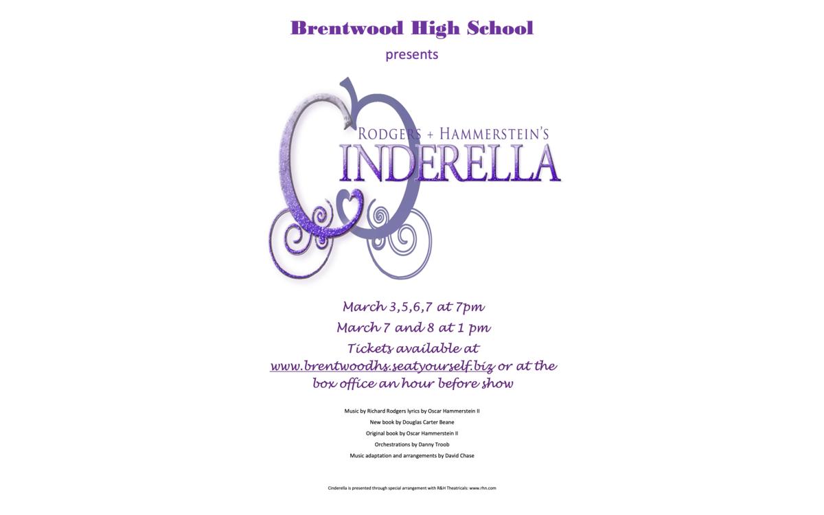 Cinderella Brentwood High School musical 2020