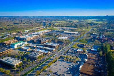 Brentwood-Aerial-Photo-2-looking-southeast-toward-wsm-tower