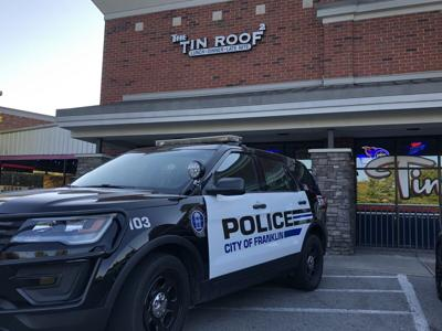 Franklin Police shut down Tin Roof 2