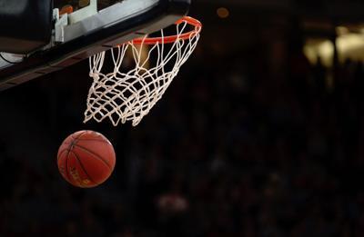 Basketball thru net