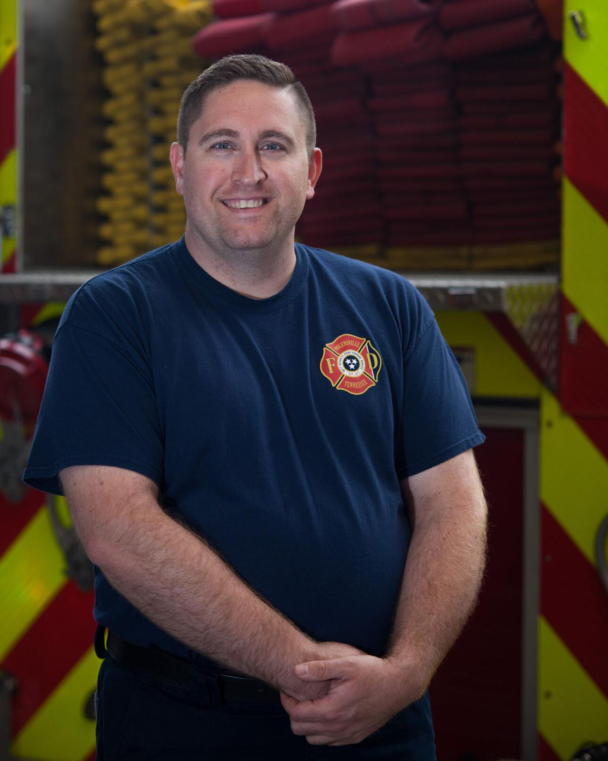 NVFD Fire Chief Adam Spencer
