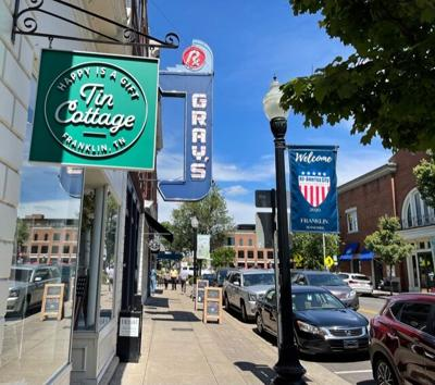 Downtown Franklin May 2021