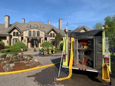 Liepers Creek Road fire 04262021