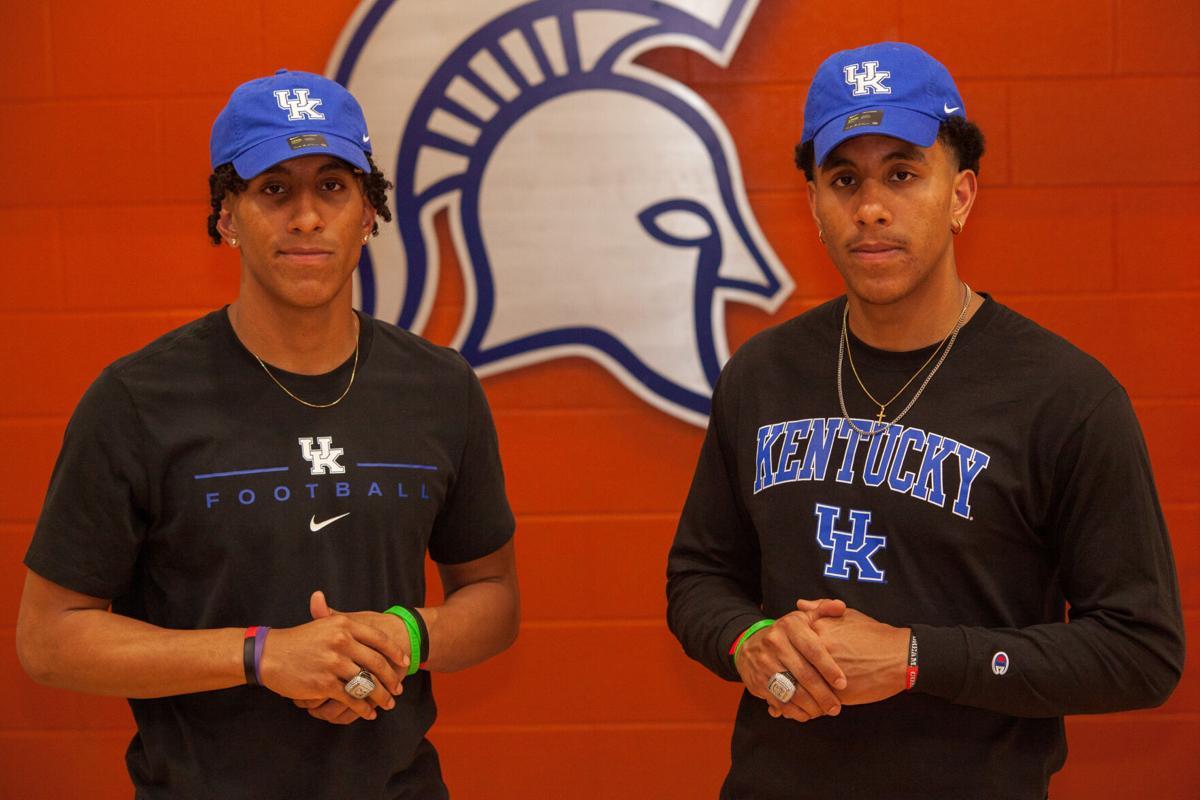 Destin and Keaten Wade Summit High University of Kentucky signing 2
