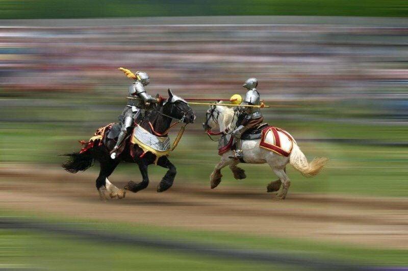 Tennessee Renaissance Festival jousting