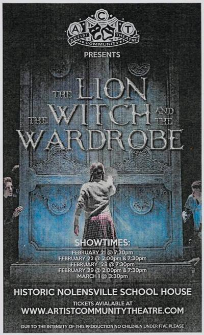 Artist Community Theatre Lion the Witch and the Wardrobe Nolensville