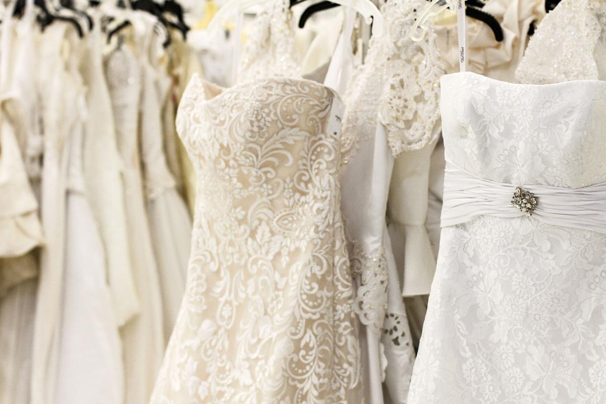 Goodwill wedding gowns