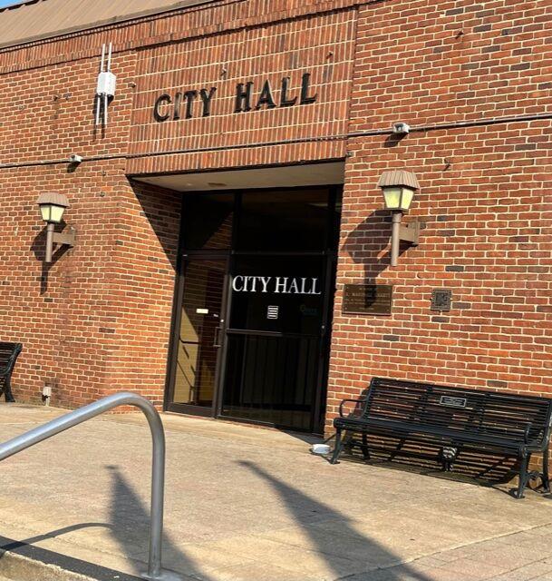 Franklin City Hall May 2021
