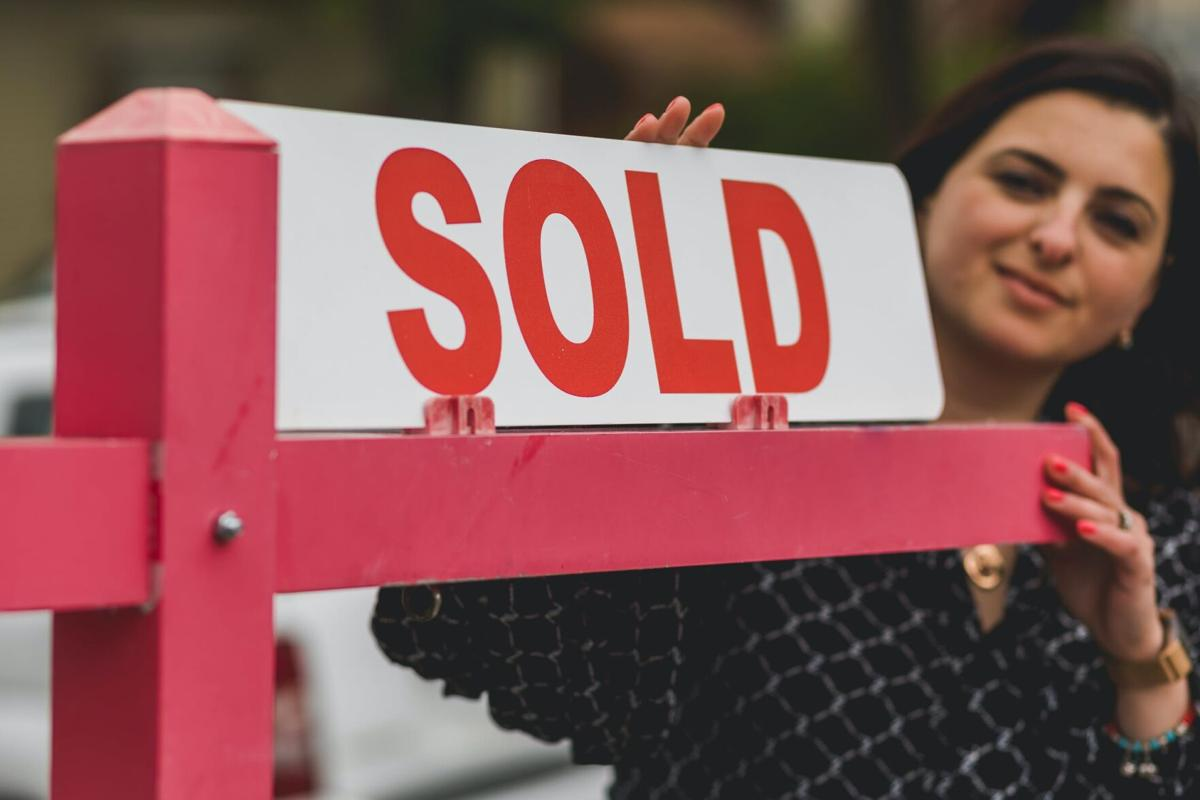 sold sign stock