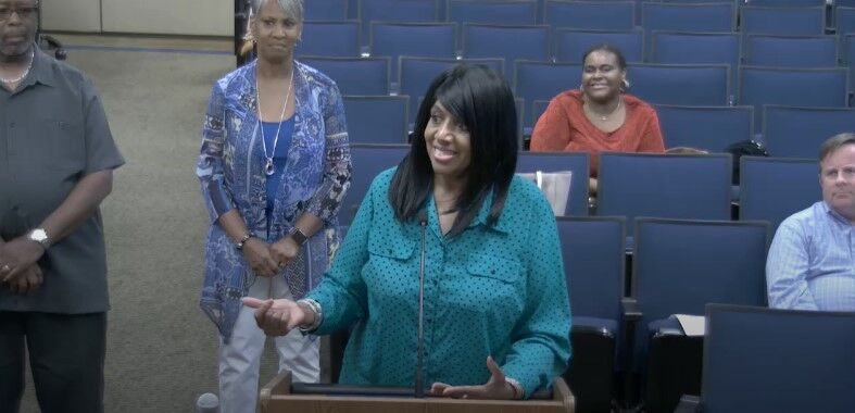 African American Heritage Society of Williamson County President Alma McLemore 2021