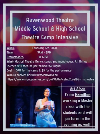 Ravenwood High School Theatre camp