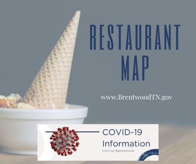 Brentwood Restaurant Map