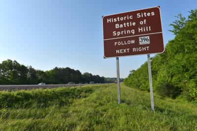 spring-hill-civil-war-sign