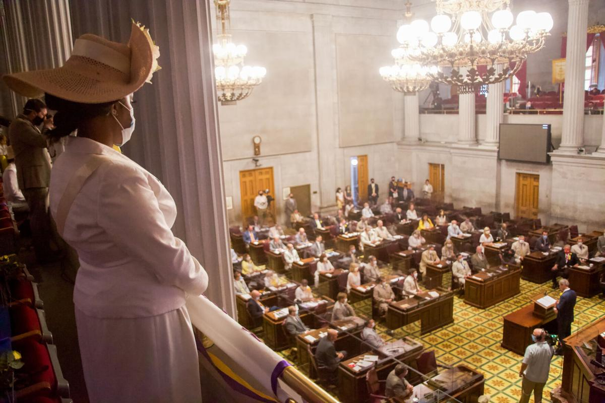 19th Amendment ratification centennial Nashville state capitol 1