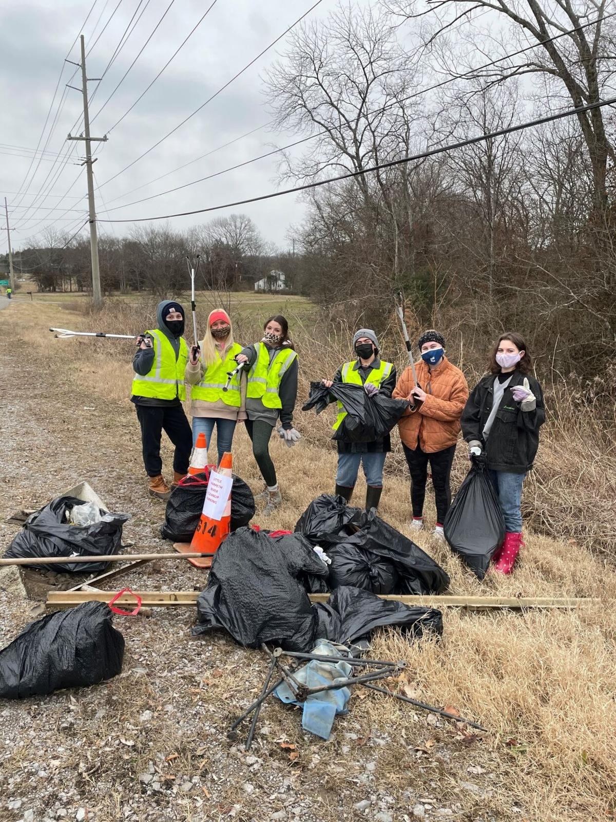 Little Harpeth River Cleanup 2021 2