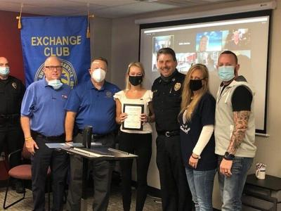 The Hillsboro-Brentwood Exchange Club 2020 officer of the year