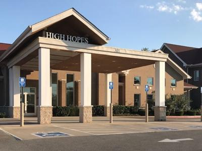 High Hopes exterior