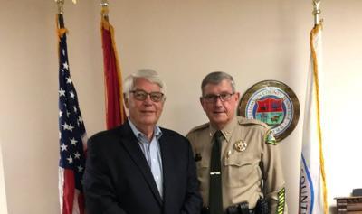 Sheriff Dusty Rhoades swearing in 2020