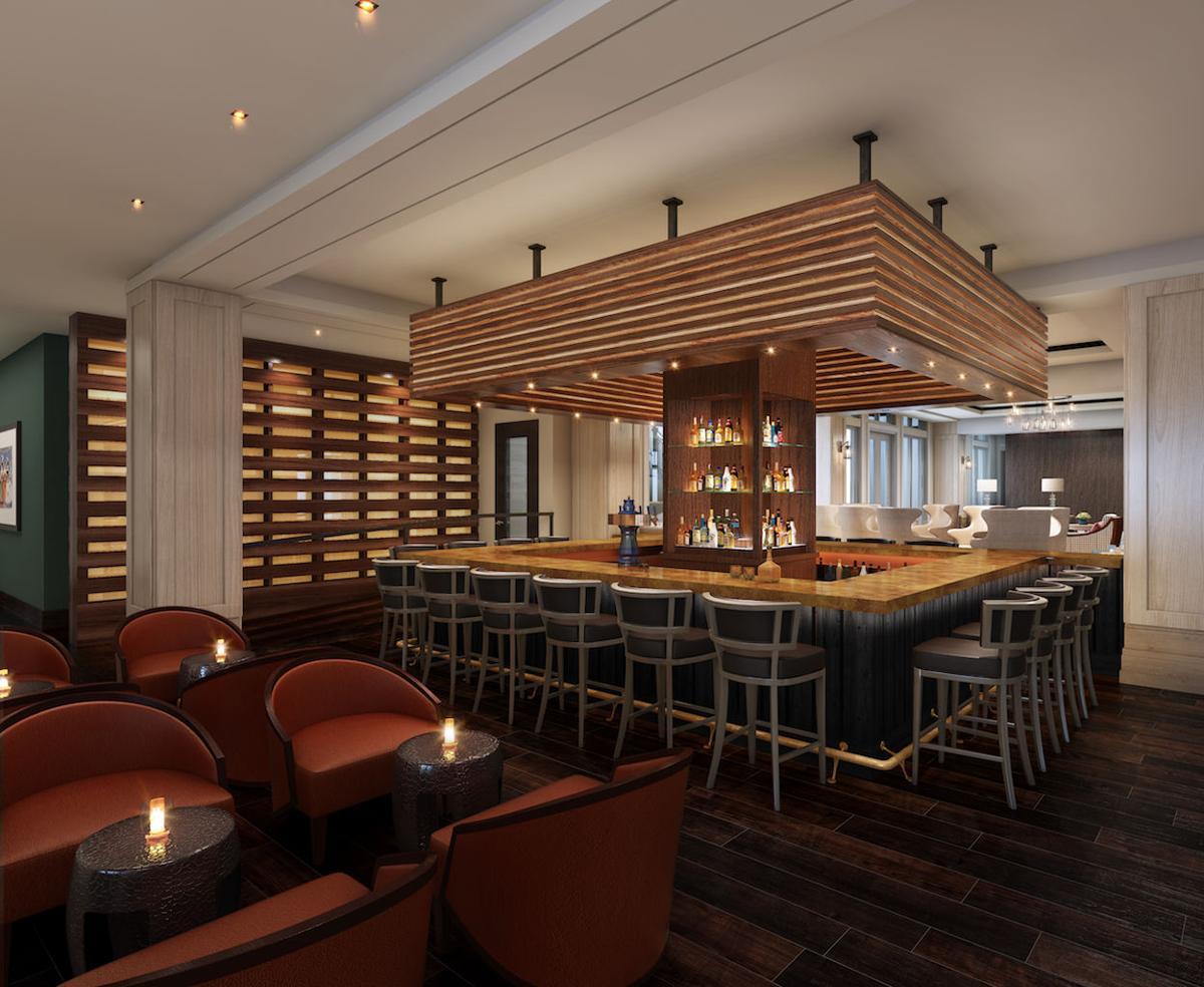 Harpeth Hotel bar