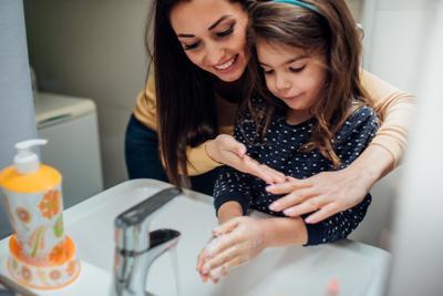 Hand wash photo