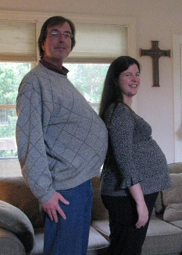 Steve Baum and daughter
