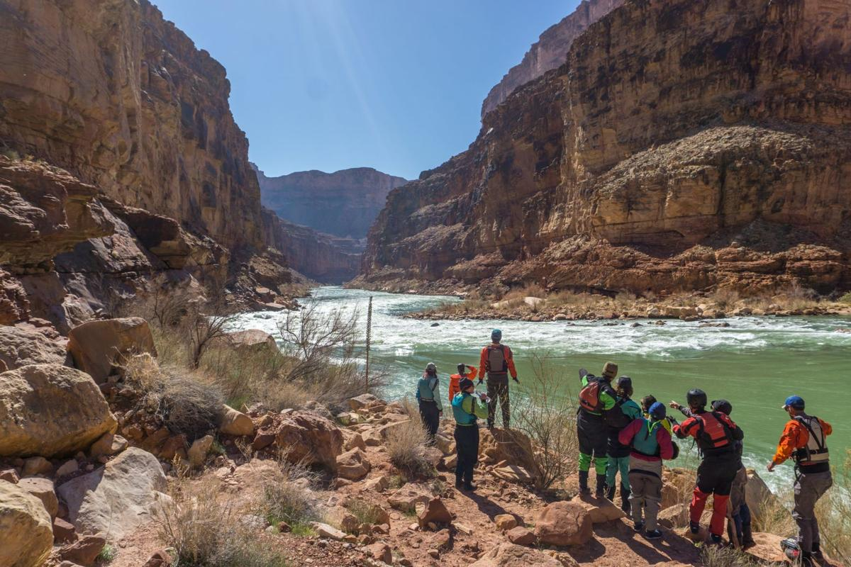 Scouting House Rock Rapid, Credit Tyler Whitcomb.jpg Grand Canyon