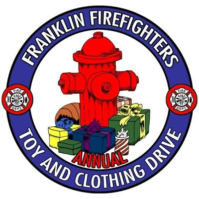 Franklin Fire Department annual Franklin Firefighters' Christmas Toy and Clothing Drive