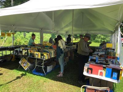 pop up tent book sale