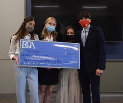 BGA winning team in The Capstone Pitch Competition