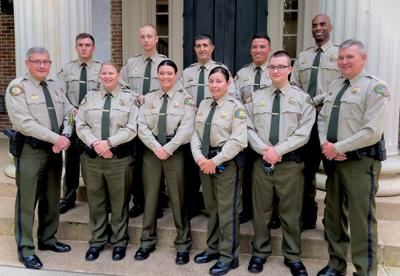 Williamson County Sheriff's Office detention class June 2021