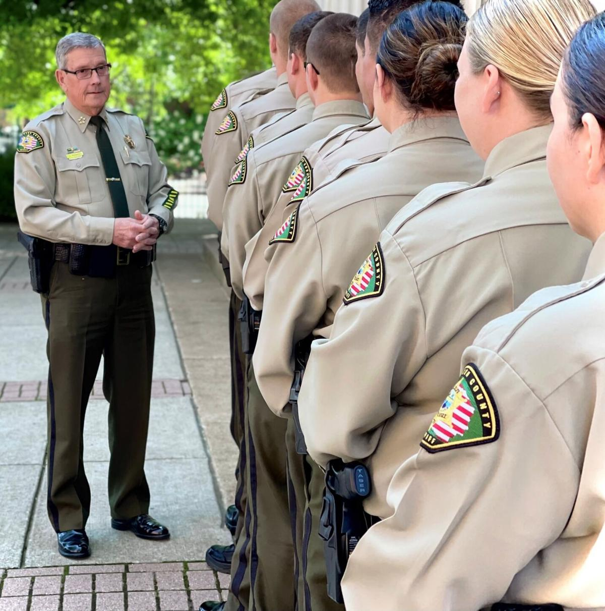 Williamson County Sheriff's Office Detention Training Class June 2021