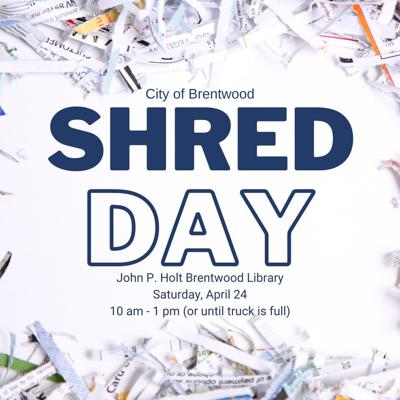 Brentwood Shred Day 2021