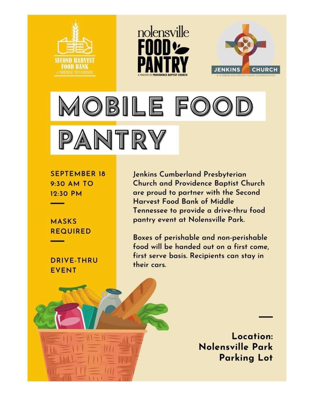 Nolensville Mobile Food Pantry Sept 2020 1