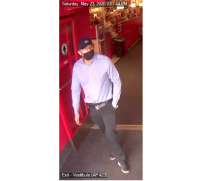 Theft suspect Target