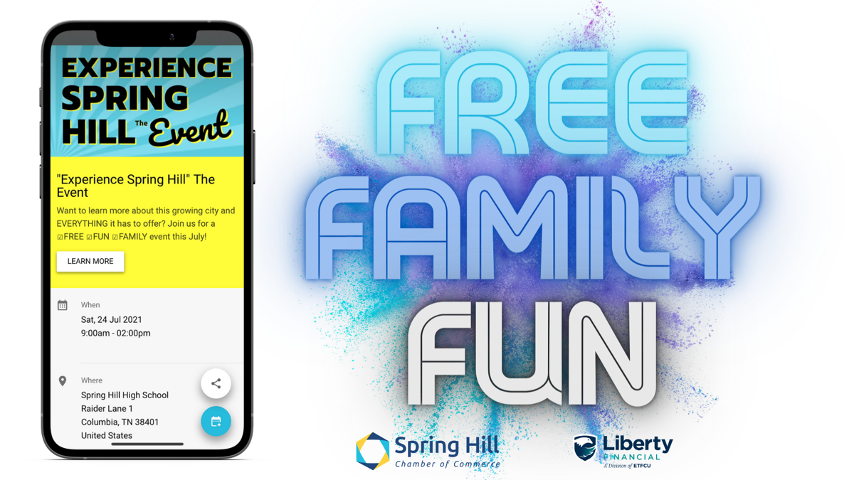 Experience Spring Hill Flyer